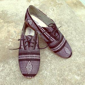 Aztec Print shoes